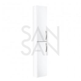 Korkea seinäkaappi Gustavsberg 1871 - kaapin ovet Perfect White