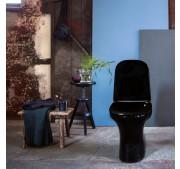 WC-istuin Gustavsberg Estetic 8300 C+ musta