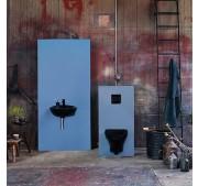 Seinä WC-istuin Gustavsberg Estetic 8330 C+ musta