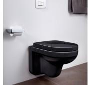 Seinä WC-istuin Gustavsberg ARTic 4330 C+ musta