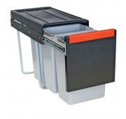 Jätelajitteluvaunu Franke Cube 30 Manual Duo