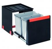 Jätelajitteluvaunu Franke Cube 41 Manual Duo