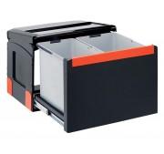 Jätelajitteluvaunu Franke Cube 50 Manual Duo