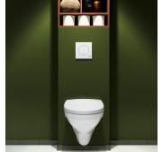 Seinä WC-istuin Gustavsberg Nautic 5530