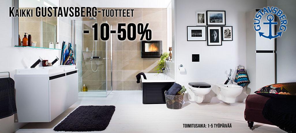 Kaikki Gustavsberg tuotteet -10-50%